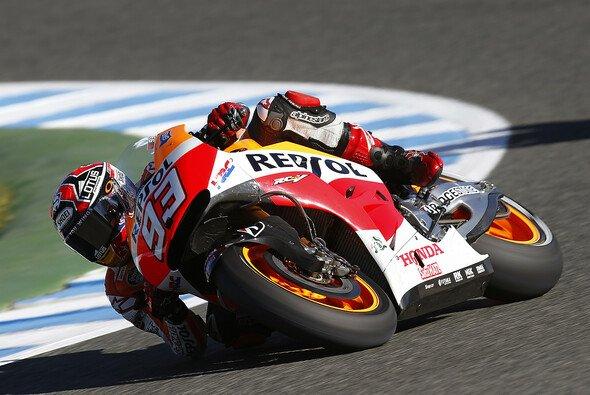 Marc Marquez setzte vor dem Qualifying ein letztes Ausrufezeichen