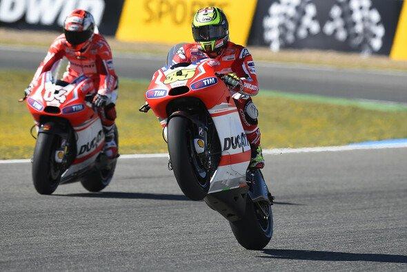 Andrea Dovizioso und Cal Crutchlow ziehen nach dem Jerez-Rennen ein gegensätzliches Saison-Fazit