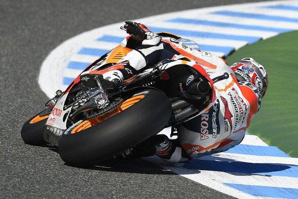 Dani Pedrosa startet in Jerez von Platz drei