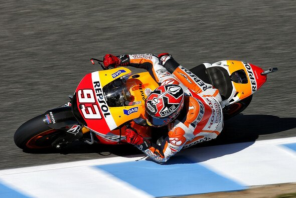 Marc Marquez fuhr erneut Bestzeit