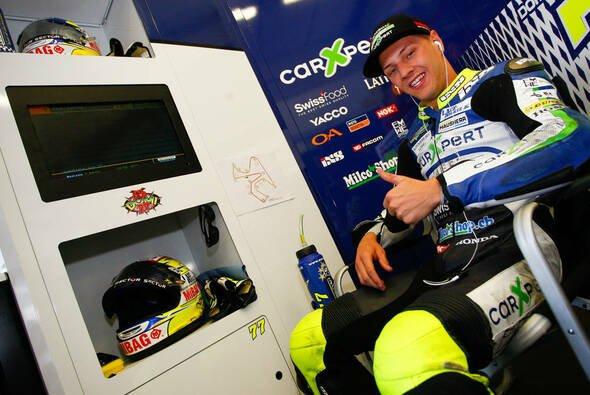 Dominique Aegerter gilt als heißer Anwärter auf einen MotoGP-Platz 2015