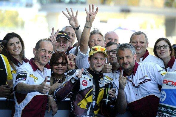 Mika Kallio ließ der Moto2-Konkurrenz in Jerez nicht den Hauch einer Chance