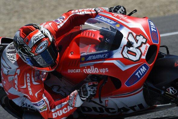 Andrea Dovizioso sieht bei Ducati noch immer Aufholbedarf