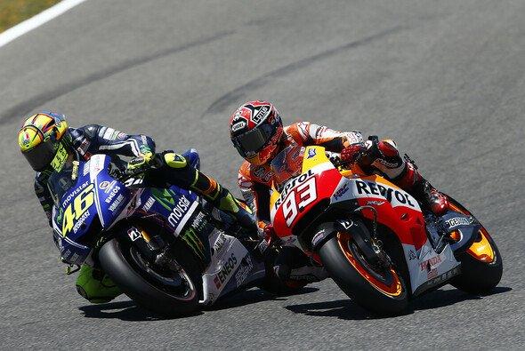 Kommt es in Mugello zum großen Duell Rossi gegen Marquez?