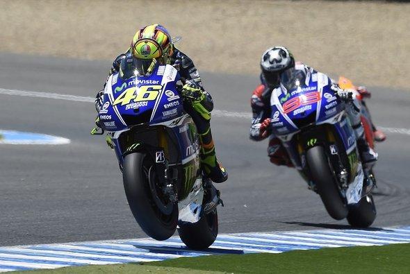 Valentino Rossi ist zurück auf dem Podium. Was macht ihn stärker als Jorge Lorenzo?