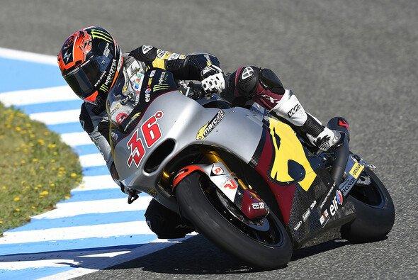 Mika Kallio testete neue Einstellungen und die Moto3