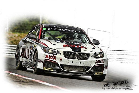 Der BMW M235i Racing von AVIA racing kam bei den Lesern gut an