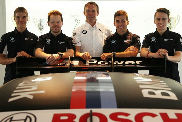 Die BMW-Junioren mit Mentor Dirk Adorf