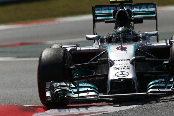 Rosberg schneller als Hamilton