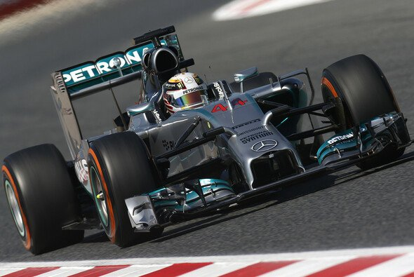 Lewis Hamilton steht erneut ganz vorne