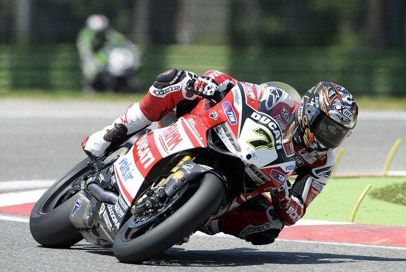 Chaz Davies schloss die Superpole auf Rang vier ab - Foto: Ducati