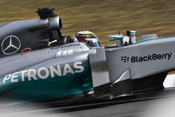 Lewis Hamilton fand im richtigen Moment die entscheidenden Zehntel