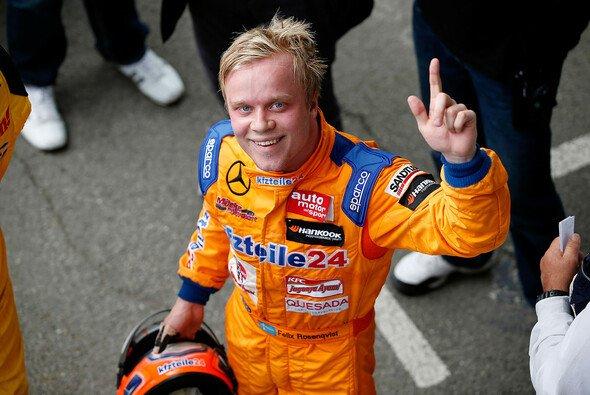 Felix Rosenqvist sicherte sich seine erste Pole-Position der Saison
