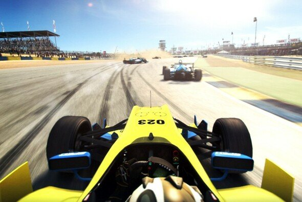 Auch Formel-Boliden können pilotiert werden - Foto: Bandai Namco
