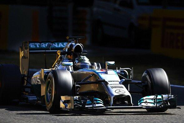 Nico Rosberg erzielte die zweitbeste Rundenzeit in Barcelona