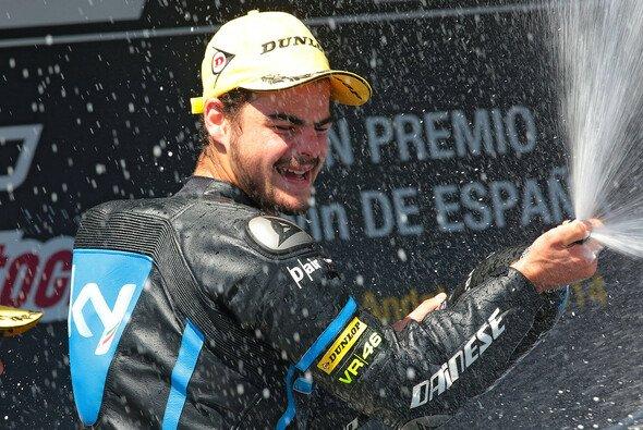 Romano Fenati holte sich seinen dritten Moto3-Sieg