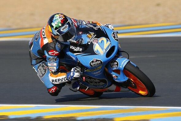 Alex Marquez führte das Moto3-Feld an