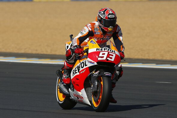Marc Marquez holte die sechste Pole Position in Serie