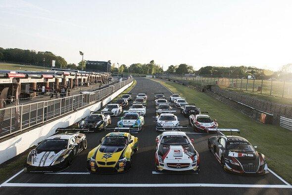 Das Feld der Blancpain-Sprintserie beim Gastspiel in Kent