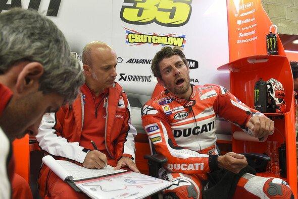 Cal Crutchlow kommt mit der Ducati nach wie vor nicht zurecht