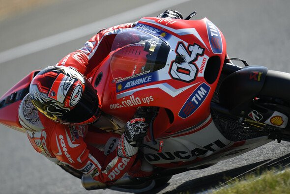 Andrea Dovizioso büßte im Rennen fünf Positionen ein