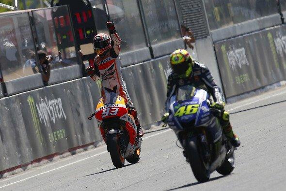 Valentino Rossi lobt Marc Marquez