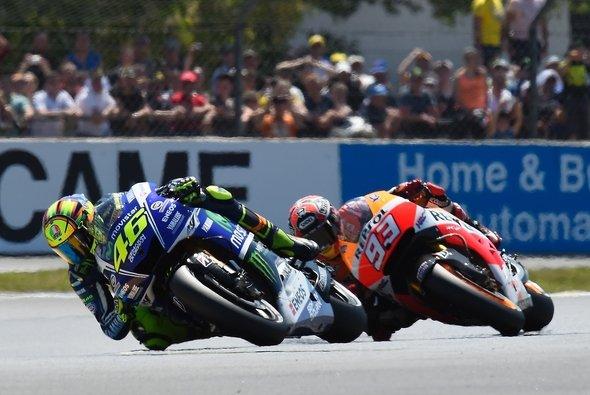 Rossi war 2014 bisher der Einzige, der Marquez gefährden konnte