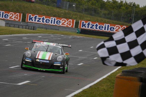 Lukas Schreier kam im zweiten Rennen als 13. ins Ziel