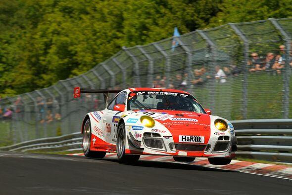 Frikadelli Racing erlebte ein kurioses Rennen auf dem Nürburgring
