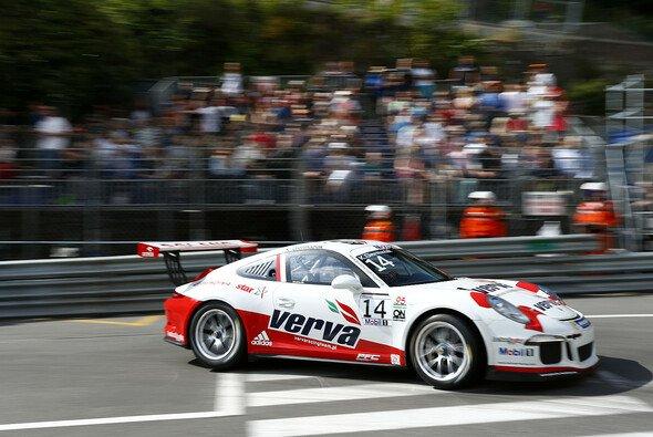 Kuba Giermaziak schnappte sich in Monaco die Pole-Position - Foto: Porsche