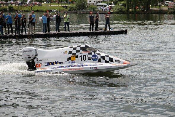 Mike Szymura gewann zwei von vier Rennen