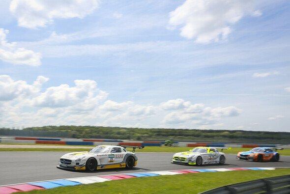 Jaime Alguersuari und Nico Bastian teilen sich einen SLS AMG GT3