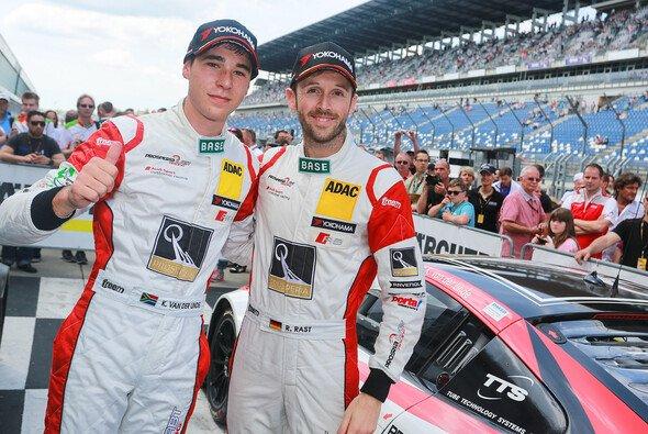Kelvin van der Linde und Rene Rast sicherten sich auf dem Lausitzring einen zweiten Platz