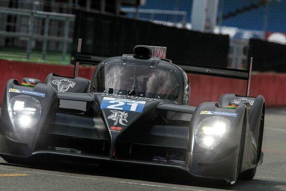 Der Dome S103 bei Testfahrten auf dem Silverstone Circuit