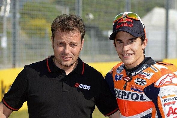 Marc Marquez und Emilio Alzamora sind ein eingespieltes Team