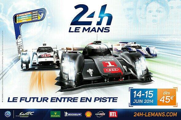 Am Sonntag geht es zum ersten Mal rund in Le Mans