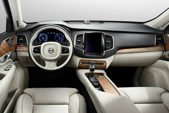 So sieht der neue Volvo XC90 innen aus
