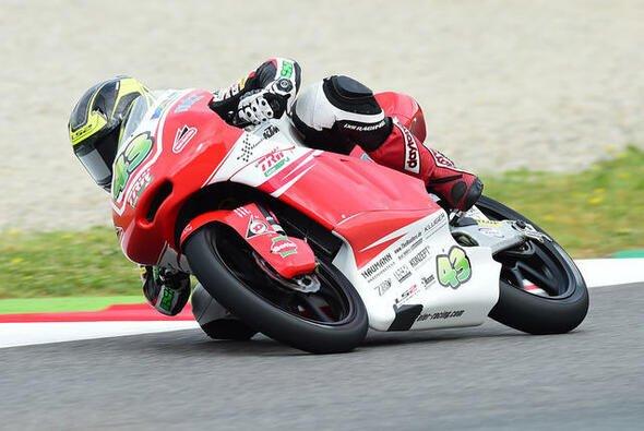 Luca Grünwald macht Fortschritte in der Moto3