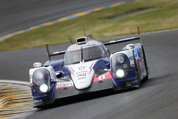 Alles im Griff: Toyota Racing diktierte die Pace beim Le-Mans-Test