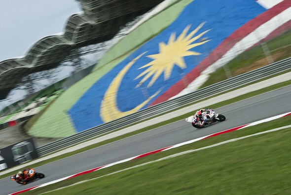 Michael van der Mark erobert Sepang