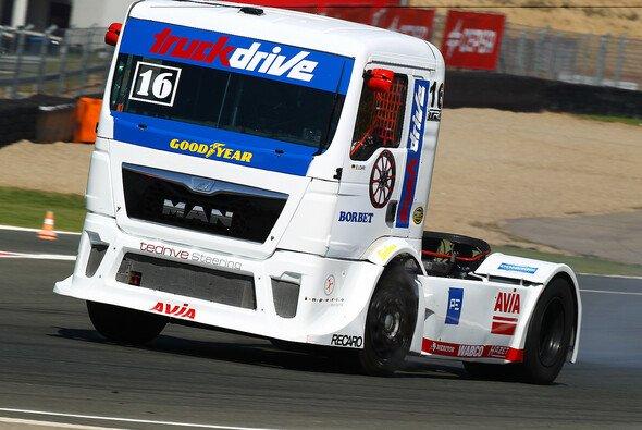 Ellen Lohr war mit ihrem Truck in Navarra unterwegs - Foto: Lohr
