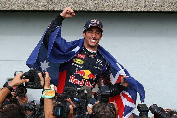 Daniel Ricciardo ist der Mann der Stunde