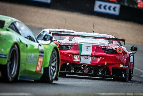 Im Ferrari von AF Corse hat Kaffer Chancen auf den Klassensieg