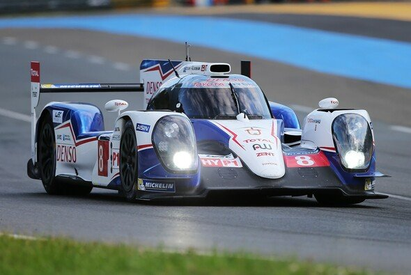 Der Toyota TS040 Hybrid Anthony Davidsons und seiner Stallkumpanen in Le Mans