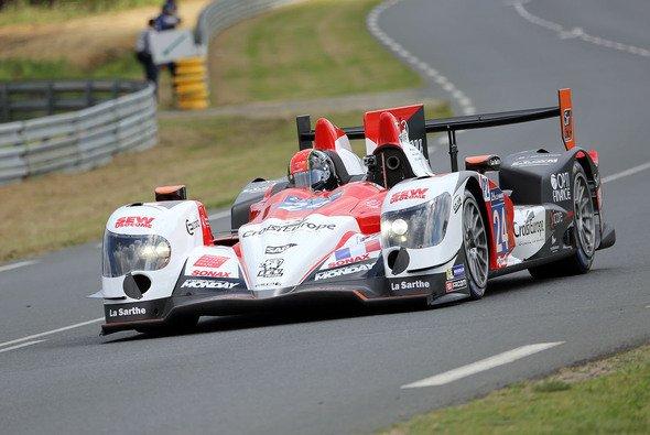 Rene Rast im LMP2 von Sebastien Loeb Racing