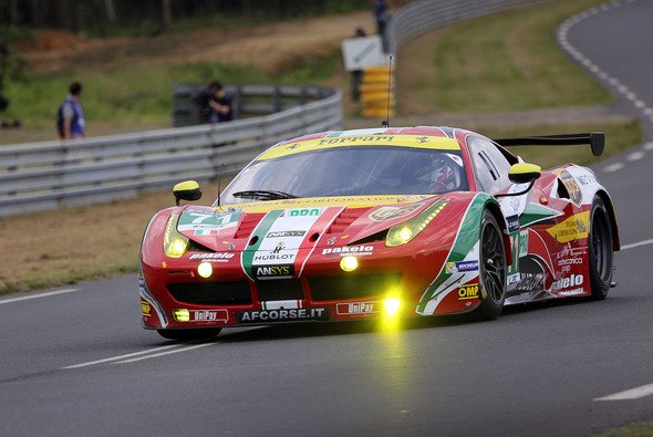 In diesem Ferrari hätte James Calado bei den 24h von Le Mans starten sollen - Foto: Speedpictures
