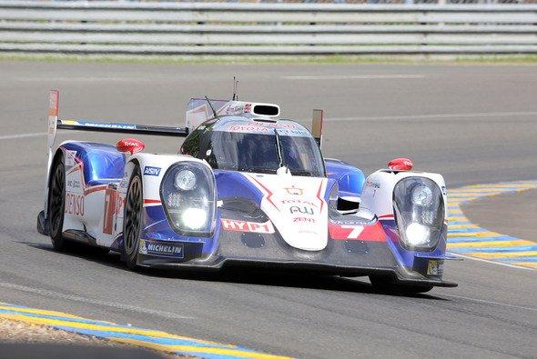 Toyota konnte im Qualifying noch nicht alles zeigen