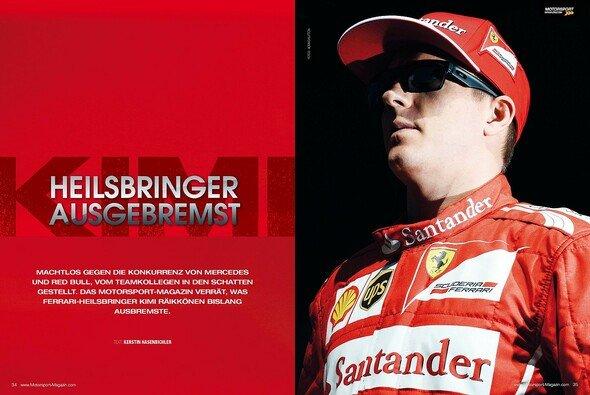 Was ist mit Kimi und Ferrari los?