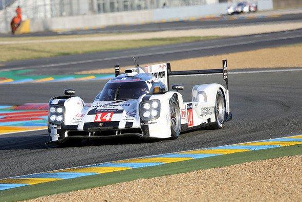 Die Mühen des Porsche-Teams wurden mit einem Start aus der ersten Reihe belohnt