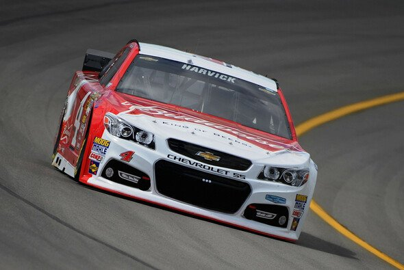 Kevin Harvick dominierte das Qualifying in Michigan